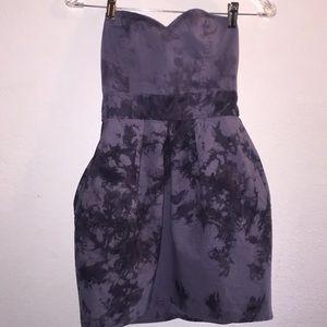 Roxy Tie Dye Strapless Dress W/ Pockets